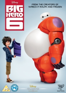 Big Hero 6, DVD  DVD