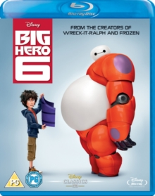 Big Hero 6, Blu-ray  BluRay