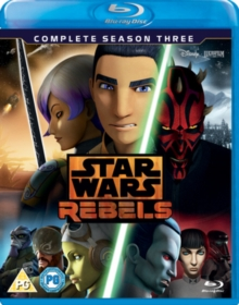 Star Wars Rebels: Complete Season 3, Blu-ray BluRay