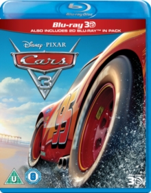 Cars 3, Blu-ray BluRay