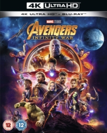 Avengers: Infinity War, Blu-ray BluRay
