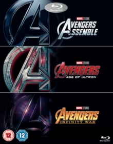 Avengers: 3-movie Collection, Blu-ray BluRay