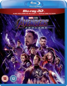 Avengers: Endgame, Blu-ray BluRay