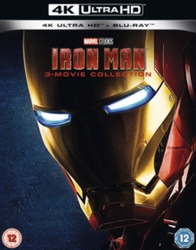 Iron Man 1-3, Blu-ray BluRay