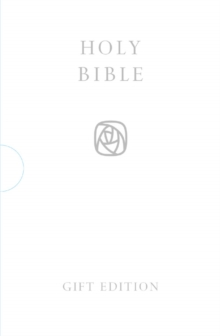 HOLY BIBLE: King James Version (KJV) White Pocket Gift Edition, Leather / fine binding Book