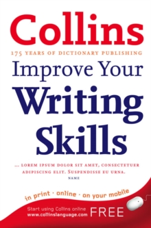 Collins Improve Your Writing, Paperback Book