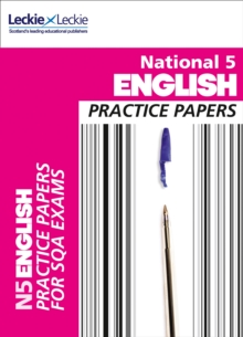 National 5 English Practice Papers for SQA Exams, Paperback Book