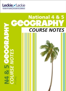 National 4/5 Geography Course Notes, Paperback Book