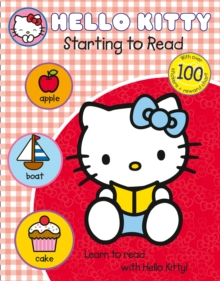 Learn with Hello Kitty: Starting to Read, Paperback Book