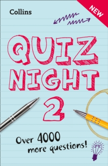 Collins Quiz Night 2, Paperback Book