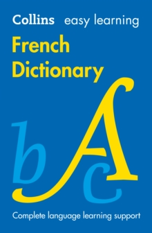 Easy Learning French Dictionary, Paperback Book