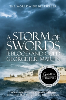 A Storm of Swords: Part 2 Blood and Gold, Paperback Book
