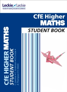 CfE Higher Maths Student Book, Paperback Book