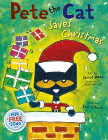 Pete the Cat Saves Christmas, Paperback Book