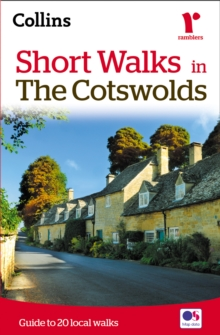 Short walks in the Cotswolds, Paperback Book