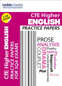 CfE Higher English Practice Papers for SQA Exams, Paperback Book