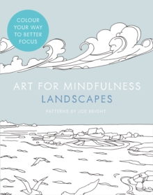 Art for Mindfulness: Landscapes, Paperback Book