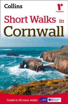 Short Walks in Cornwall, Paperback Book