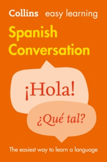 Easy Learning Spanish Conversation, Paperback Book