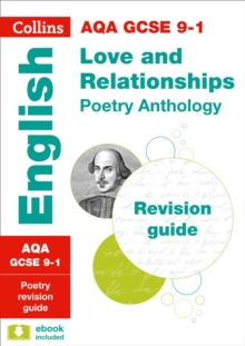 AQA GCSE Poetry Anthology: Love and Relationships Revision Guide, Paperback Book