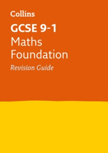 GCSE Maths Foundation Revision Guide, Paperback Book