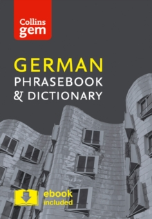 Collins German Phrasebook and Dictionary Gem Edition : Essential Phrases and Words in a Mini, Travel-Sized Format, Paperback Book