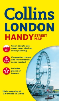 Collins Handy Street Map London, Sheet map, folded Book