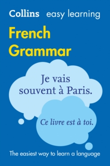 Easy Learning French Grammar, Paperback Book