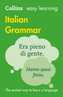 Easy Learning Italian Grammar, Paperback Book