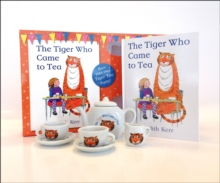 The Tiger Who Came to Tea - China Tea Set, Mixed media product Book