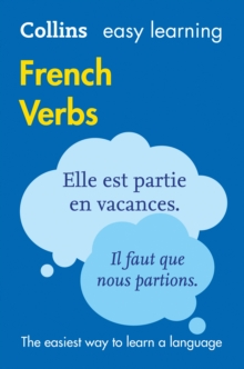 Easy Learning French Verbs, Paperback Book