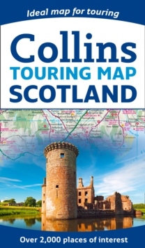 Scotland Touring Map, Sheet map, folded Book