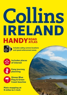 Collins Handy Road Atlas Ireland, Paperback Book