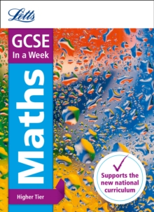 GCSE Maths Higher in a Week, Paperback Book
