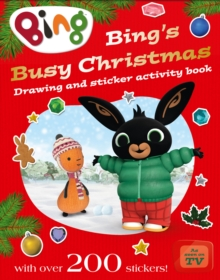 Bing's Busy Christmas, Paperback Book