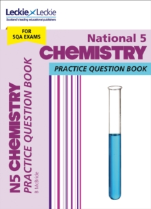 National 5 Chemistry Practice Question Book, Paperback Book