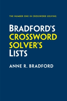 Collins Bradford's Crossword Solver's Lists, Paperback / softback Book