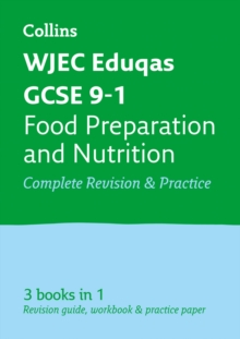 WJEC Eduqas GCSE 9-1 Food Preparation and Nutrition All-in-One Revision and Practice, Paperback / softback Book