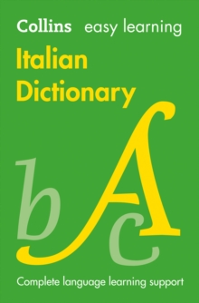Easy Learning Italian Dictionary : Trusted Support for Learning
