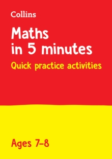 Letts Maths in 5 Minutes a Day Age 7-8, Paperback / softback Book
