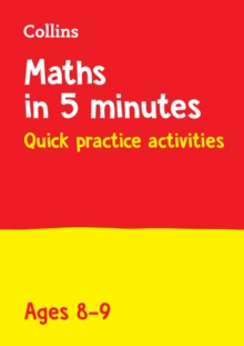Letts Maths in 5 Minutes a Day Age 8-9, Paperback / softback Book