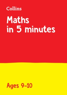 Letts Maths in 5 Minutes a Day Age 9-10, Paperback / softback Book