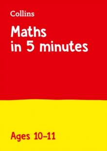 Maths in 5 Minutes a Day Age 10-11, Paperback / softback Book