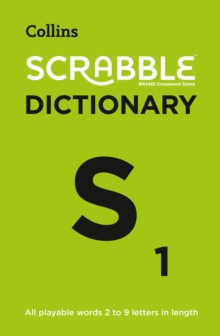 Collins Scrabble Dictionary : The Official Scrabble Solver - All Playable Words 2 - 9 Letters in Length, Paperback / softback Book