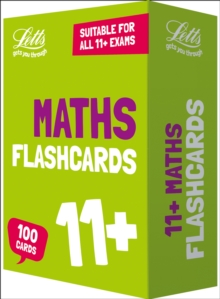 11+ Maths Flashcards, Cards Book
