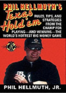 Phil Hellmuth's Texas Hold'em, Paperback Book