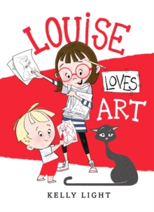 Louise Loves Art, Hardback Book