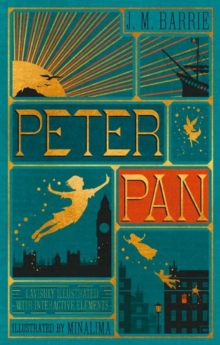 Peter Pan (Illustrated with Interactive Elements), Hardback Book