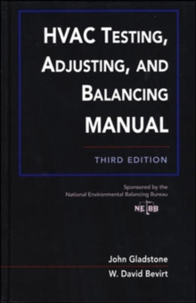HVAC Testing, Adjusting, and Balancing Field Manual, Hardback Book