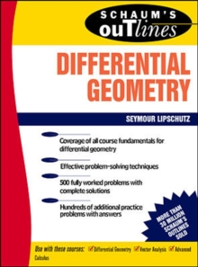Schaum's Outline of Differential Geometry, Paperback Book